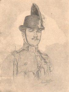 Magyar csendőr, Márton Ferenc rajza